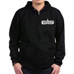 Number One Barks Fan Zip Hoodie (dark)