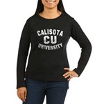 Calisota University Women's Long Sleeve Dark T-Shirt