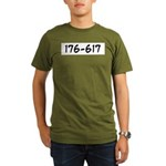176-617 Organic Men's T-Shirt (dark)