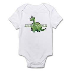 Stuffosaurus Logo Infant Bodysuit