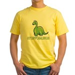 Stuffosaurus Logo Yellow T-Shirt