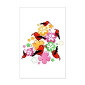  Hawaiian-style 'I'iwi Mini Poster Print