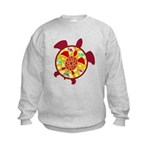 Turtle Within Turtle Kids Sweatshirt