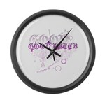 Good Witch Large Wall Clock