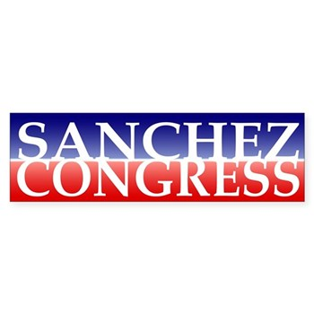 Linda Sanchez for Congress Bumper Sticker