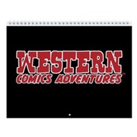 Western Comics Adventures 12-Month Calendar