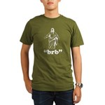 Jesus BRB Organic Men's T-Shirt (dark)