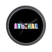 Colorful Retro Liberal Wall Clock
