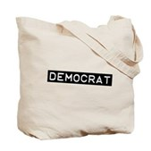 Democrat Label Tote Bag