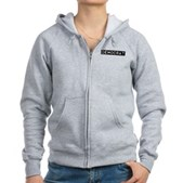 Democrat Label Women's Zip Hoodie