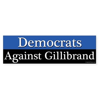 Progressive Democrats Against Gillibrand Bumper Sticker