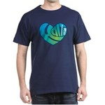 Haiti Heart Dark T-Shirt
