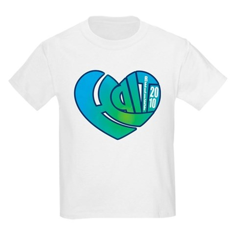 Haiti Heart Kids Light T-Shirt