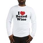 I Heart Boxed Wine Long Sleeve T-Shirt