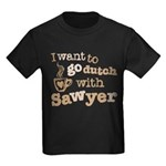 I want to go dutch w/Sawyer Kids Dark T-Shirt