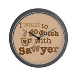I want to go dutch w/Sawyer Wall Clock