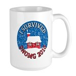 I Survived SNOMG 2010 Large Mug