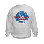 I Survived Snopocalypse Blizzard of 2010  Kids Sweatshirt