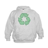 Path to Recycling Kids Hoodie