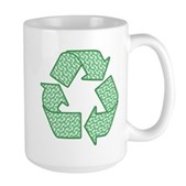 Path to Recycling Large Mug