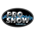 ProShow Logo Sticker (Oval)