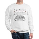 10 Reasons to love a soldier Sweatshirt