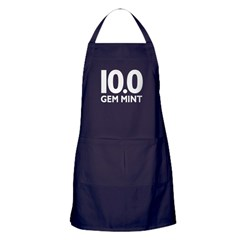 10.0 Gem Mint Apron (dark)