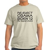 Logical Obama 2012 Light T-Shirt