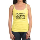 Logical Obama 2012 Jr. Spaghetti Tank