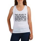 Logical Obama 2012 Women's Tank Top