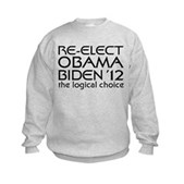 Logical Obama 2012 Kids Sweatshirt