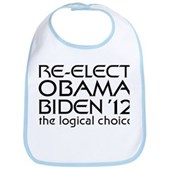 Logical Obama 2012 Bib