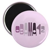 This retro design in shades of purple reads Obama12 in a stylish font in an oval shape. This unique design is made for anyone that supports President Barack Obama in his 2012 re-election campaign.