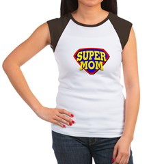 Super Mom! Women's Cap Sleeve T-Shirt