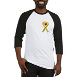 Yellow Ribbon Love Miss Airman Baseball Jersey