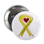 "Yellow Ribbon Love Miss Sailor 2.25"" Button (10 pa"