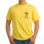 Yellow Ribbon Love Miss Sailor Yellow T-Shirt