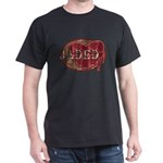 Urban Grunge Jaded Black T-Shirt