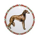 Saluki Christmas Ornament
