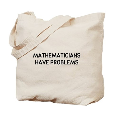 Mathematicians Tote Bag