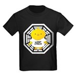 Lost Chick - Dharma Initiative Kids Dark T-Shirt