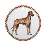 Fawn Great Dane Ornament