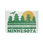 Minnesota Rectangle Magnet (100 pack)