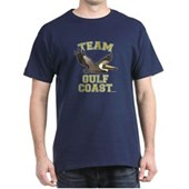 Team Gulf Coast Pelican Dark T-Shirt