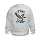 Team Gulf Coast Pelican Kids Sweatshirt
