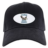 Team Gulf Coast Pelican Black Cap