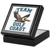 Team Gulf Coast Pelican Keepsake Box