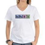 Scrubs Made of Elements Women's V-Neck T-Shirt