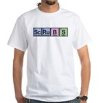 Scrubs Made of Elements White T-Shirt