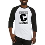 Content Rated C: Castle Fan Baseball Jersey